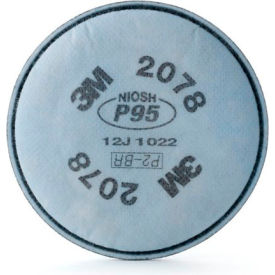 3M™ Particulate Filter 2078, P95, with Nuisance Level Organic Vapor/Acid Gas, 2/Pack