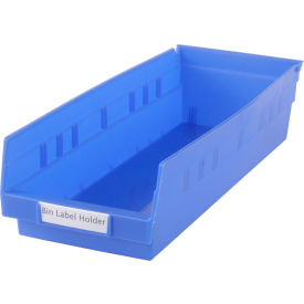 "TR-0813 Tri-Dex Label Holder 13/16"" x 3"" for Shelf Bin 7x18x4 Price per Pack of 25"