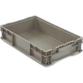 global industrial™ straight wall container solid - stackable nrso2415-05 - 24 x 15 x 5 Global Industrial™ Straight Wall Container Solid - Stackable NRSO2415-05 - 24 x 15 x 5