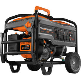 generac® carb portable generator w/ recoil start, gasoline, 6500 rated watts Generac® CARB Portable Generator W/ Recoil Start, Gasoline, 6500 Rated Watts