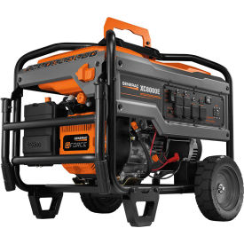 generac® industrial portable generator w/ electric/recoil start, gasoline, 8000 rated watts Generac® Industrial Portable Generator W/ Electric/Recoil Start, Gasoline, 8000 Rated Watts
