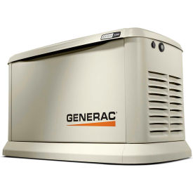 Generac? Guardian 24kW 120/240V 1 Phase Air-Cooled Standby Generator, NG/LP, WiFi Enabled