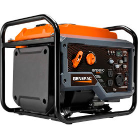 generac® portable open frame inverter generator w/ recoil start, gasoline, 3000 rated watts