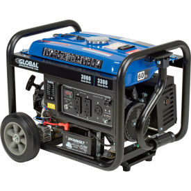 global industrial™ portable generator w/ electric/recoil start, gasoline, 3000 rated watts Global Industrial™ Portable Generator W/ Electric/Recoil Start, Gasoline, 3000 Rated Watts