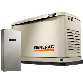 Generac? Guardian 14kW 120/240V 1 Phase Air-Cooled Standby Generator, NG/LP, WiFi Enabled