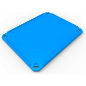 "bonar plastics polar insulated box lid for pb1000 - 58""l x 46""w x 3""h, blue Bonar Plastics Polar Insulated Box Lid for PB1000 - 58""L x 46""W x 3""H, Blue"