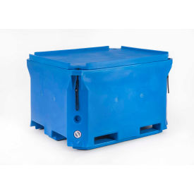 "bonar plastics polar blue insulated box with lid pb660 49""l x 41""w x 30""h, 1400 lbs. capacity Bonar Plastics Polar Blue Insulated Box With Lid PB660 49""L x 41""W x 30""H, 1400 Lbs. Capacity"