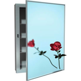 asi surface mounted stainless steel medicine cabinet ASI Surface Mounted Stainless Steel Medicine Cabinet