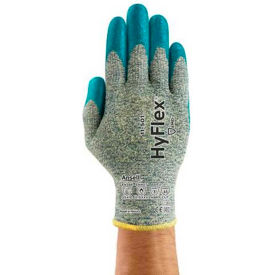 205656 HyFlex; Cr+ Foam Nitrile Coated Gloves, Ansell 11-501-7, 1-Pair