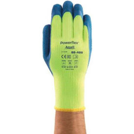 206420 Powerflex; Insulated Latex Coated Gloves, Ansell 80-400-9, 1-Pair