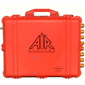 air systems 100 cfm intrinsically safe breather box®, 4 outlets, schrader, bb100-cois