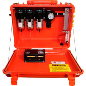 air systems 50 cfm intrinsically safe breather box®, 4 outlets, schrader fitting, bb50-cois