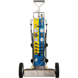 air systems international 2-cylinder tech-rescue™ cart, hansen fitting, mp-tr1