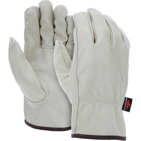 3211XL MCR Safety 3211XL Leather Drivers Gloves, Unlined Select Grain Cow Leather, X-Large