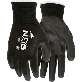96731S MCR Safety 96731S Memphis Flex Seamless 13 Gauge Nylon Knit Gloves, Small, Blue/Gray, 1 Pair