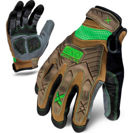 ironclad® exo2-pig-04-l project impact gloves, brown, 1 pair, l Ironclad® EXO2-PIG-04-L Project Impact Gloves, Brown, 1 Pair, L