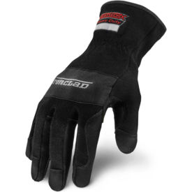ironclad hw6x-04-l heatworx heavy duty heat resistant gloves, 1 pair, black/grey, large Ironclad HW6X-04-L Heatworx Heavy Duty Heat Resistant Gloves, 1 Pair, Black/Grey, Large