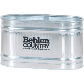 behlen country steel stock tank 50130028 round end approximately 90 gallon