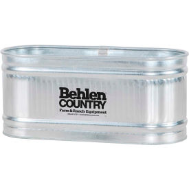 behlen country steel stock tank 50130038 round end approximately 115 gallon