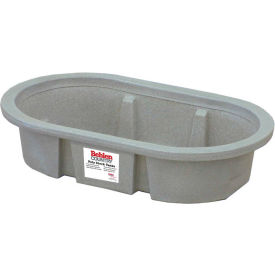behlen country poly stock tank 52110047gt 2x1x4 shallow round end 50 gallon