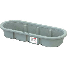 behlen country poly stock tank 52110067gt 2x1x6 shallow round end 70 gallon