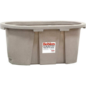behlen country poly stock tank 52112017gt 2x2x4 round end 100 gallon