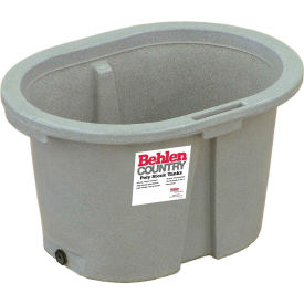 behlen country poly stock tank 52112037gt 2x2x3 round end 65 gallon