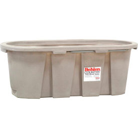 behlen country poly stock tank 52112057gt 2x2x5 round end 125 gallon