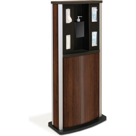 braeside series 900 standard infection control kiosk, walnut Braeside Series 900 Standard Infection Control Kiosk, Walnut