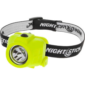 XPP-5452G NightStick; XPP-5452G Safety Rated/Intrinsically Safe Headlamp - 115 Lumens