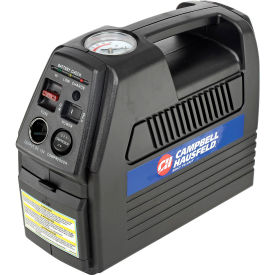 "CC2300 Campbell Hausfeld CC2300, Cordless Rechargeable Inflator, 12VDC or 120VAC, 230 PSI, 24"" Hose"