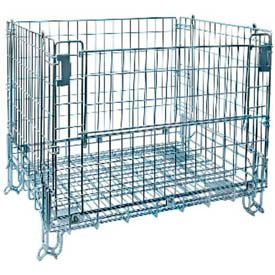 15403 Lafayette Wire 15403 Folding Wire Container 48x40x38