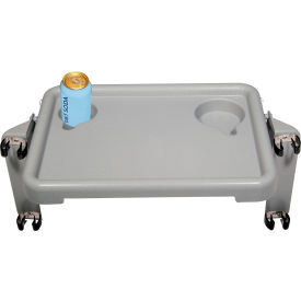 "10125 Drive Medical 10125 Walker Tray with Two Cup Holders, 16""W x 12""D x 2""H"