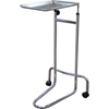 "13045 Drive Medical 13045 Double Post Mayo Instrument Stand, Adjustable Height 32.5""- 52"""