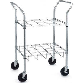 18143 Drive Medical 18143 Oxygen Cylinder Cart, For Use with 12 C, D, E, or M9 Cylinders