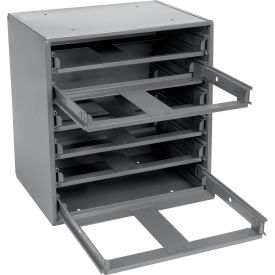 308-95 Durham Slide Rack 308-95 - For Small Compartment Storage Boxes - Fits Six Boxes