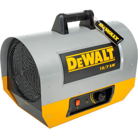 DXH1000TS DeWALT; Portable Forced Air Electric Heater DXH1000TS 10,000 Watt, 240V