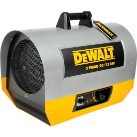 DXH2003TS DeWALT; Portable Forced Air Electric Heater DXH2003TS, 20,000 Watt, 240V, 3-Phase