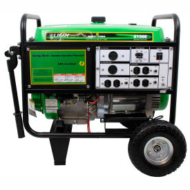 lifan power usa es8100e-ca, 7500 watts, portable generator, gasoline, electric/recoil start,120/240v Lifan Power USA ES8100E-CA, 7500 Watts, Portable Generator, Gasoline, Electric/Recoil Start,120/240V