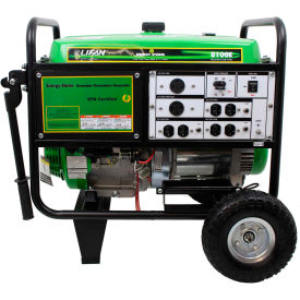 lifan power usa es8100e, 7500 watts, portable generator, gasoline, electric/recoil start, 120/240v Lifan Power USA ES8100E, 7500 Watts, Portable Generator, Gasoline, Electric/Recoil Start, 120/240V