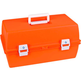 "flambeau pm1872 supply compartment box, 2 trays, 8 compartments 15-5/8""l x 6-1/2""w x 7-3/4""h orange Flambeau PM1872 Supply Compartment Box, 2 Trays, 8 Compartments 15-5/8""L x 6-1/2""W x 7-3/4""H Orange"