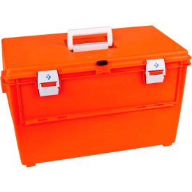 "flambeau pm2273 supply compartment box, 27 compartments 17-3/8""l x 9-3/4""w x 5""h orange Flambeau PM2273 Supply Compartment Box, 27 Compartments 17-3/8""L x 9-3/4""W x 5""H Orange"