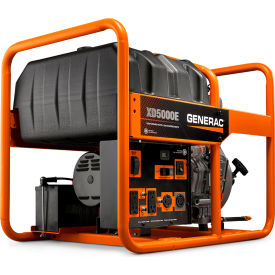 6864 GENERAC; 6864, 5000 Watts, Portable Generator, Diesel, Electric/Recoil Start, 120/240V