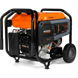 generac® carb portable generator w/ electric/recoil start, gasoline, 8000 rated watts Generac® CARB Portable Generator W/ Electric/Recoil Start, Gasoline, 8000 Rated Watts