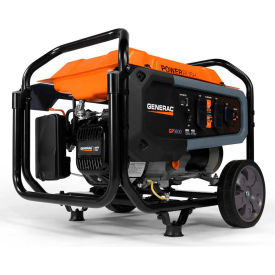generac® carb portable generator w/ recoil start, gasoline, 3600 rated watts Generac® CARB Portable Generator W/ Recoil Start, Gasoline, 3600 Rated Watts