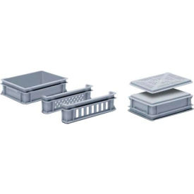 "georg utz rako stacking container 3-203-0 - 16""l x 12""w x 4-11/16""h, silver grey Georg UTZ RAKO Stacking Container 3-203-0 - 16""L x 12""W x 4-11/16""H, Silver Grey"