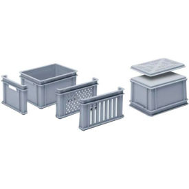 "georg utz rako stacking container 3-204-0 - 16""l x 12""w x 8-11/16""h, silver grey Georg UTZ RAKO Stacking Container 3-204-0 - 16""L x 12""W x 8-11/16""H, Silver Grey"