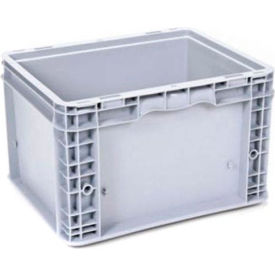 "georg utz small load container (slc) 50-1512-95-0 - 15""l x 12""w x 9-1/2""h, silver grey"
