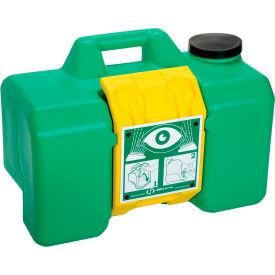 7501 Haws; 9-Gallon Cap. Gravity Operated Portable Eyewash, 7501
