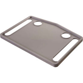 DMI® Walker Tray with Two Recessed Cup Holders, Gray